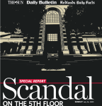 """Scandal on the 5th Floor"""
